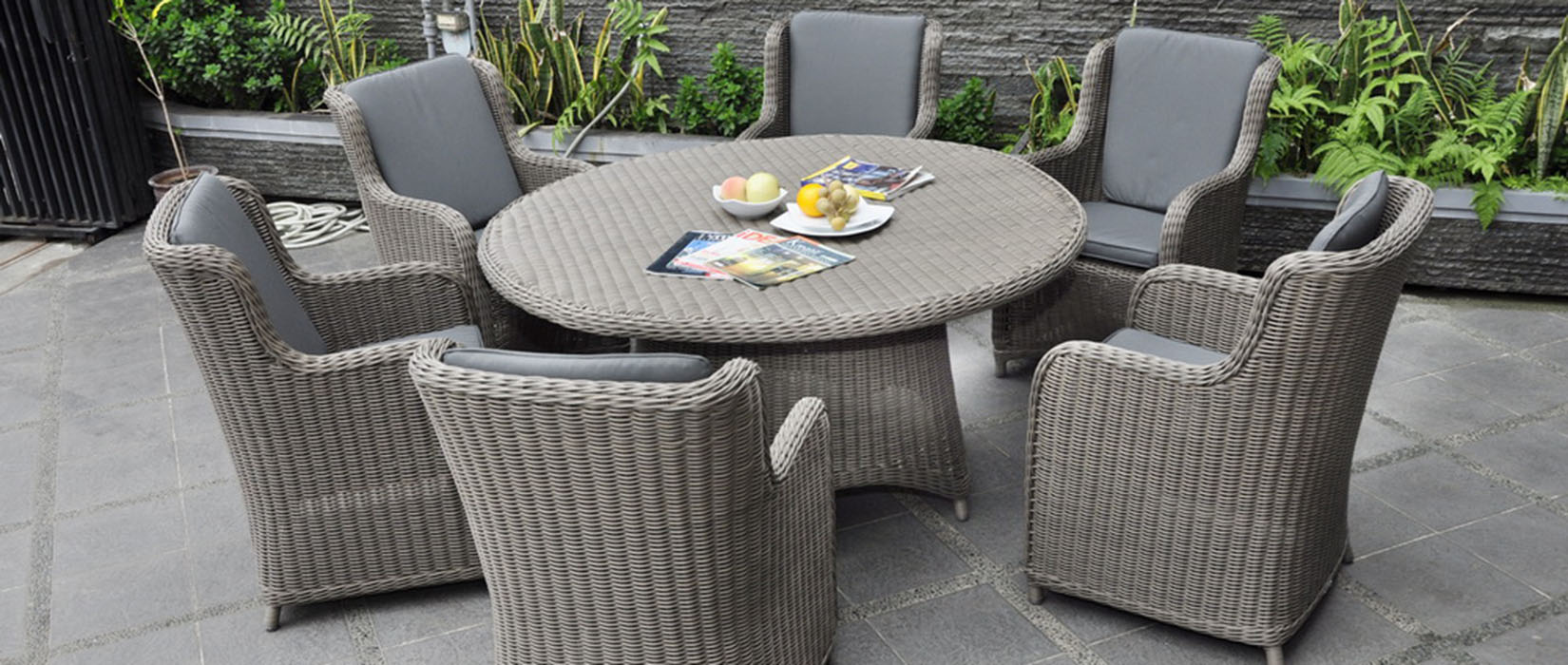 Martha Round Outdoor Dining Chairs